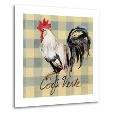 Coq Verte-Marilyn Hageman-Metal Print