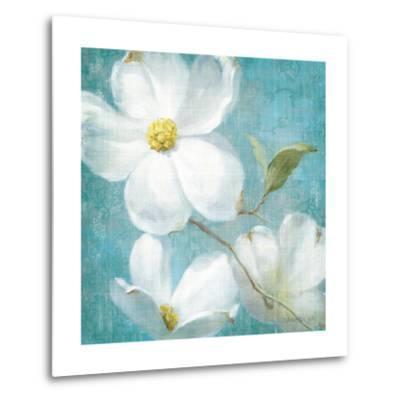 Indiness Blossom Square Vintage IV-Danhui Nai-Metal Print