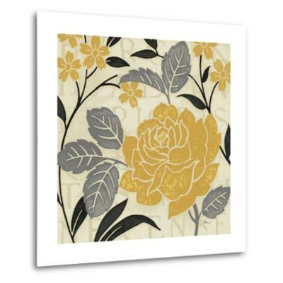 Perfect Petals II Yellow-Pela Design-Metal Print