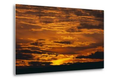 Sunset-DLILLC-Metal Print