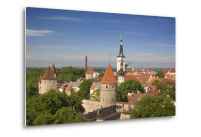 Tallinn-Jon Hicks-Metal Print