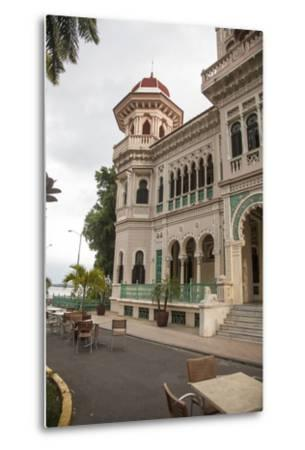 The Entryway to the Restaurant Palacio De Valle in the Punta Gorda Section of Cienfuegos-Michael Lewis-Metal Print