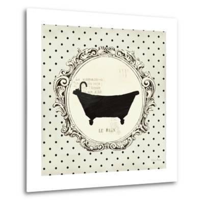 Cartouche Bath-Emily Adams-Metal Print