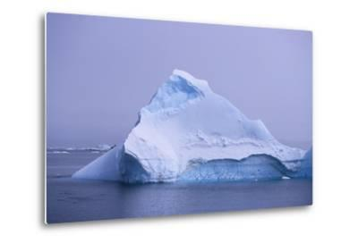Iceberg-DLILLC-Metal Print