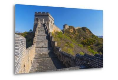 Great Wall of China-Alan Copson-Metal Print
