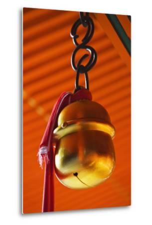 Bell in Fushimi-Inari-Taisha Shrine-Jon Hicks-Metal Print