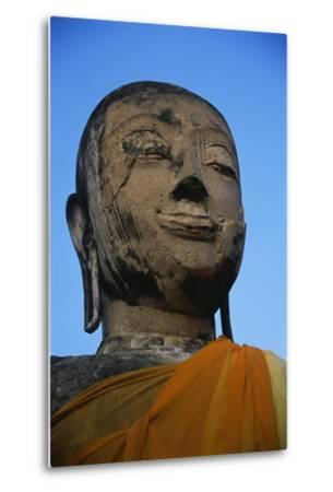Buddha Head-Macduff Everton-Metal Print