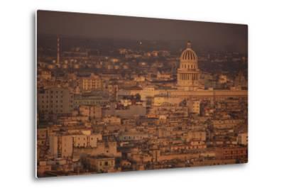 View of Havana Cuba-DLILLC-Metal Print