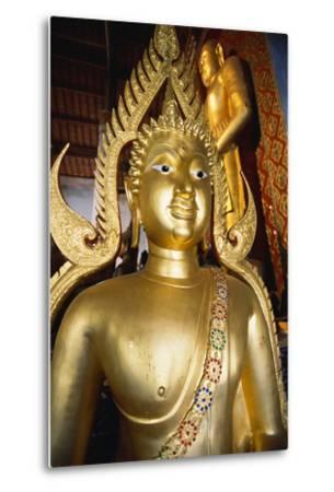 Bronze Buddha Statue-Macduff Everton-Metal Print