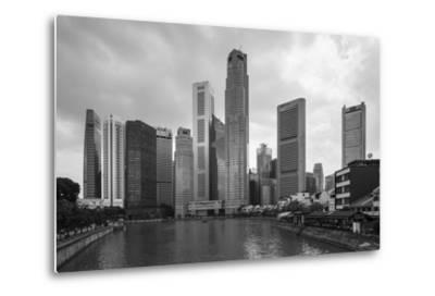 Singapore Skyline-Paul Souders-Metal Print