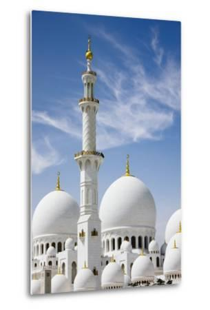 The Grand Mosque.-Jon Hicks-Metal Print