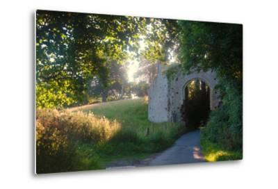 Ruins of the 13th Century 'New Gate' Leading to the Ancient Village of Winchelsea-Roff Smith-Metal Print