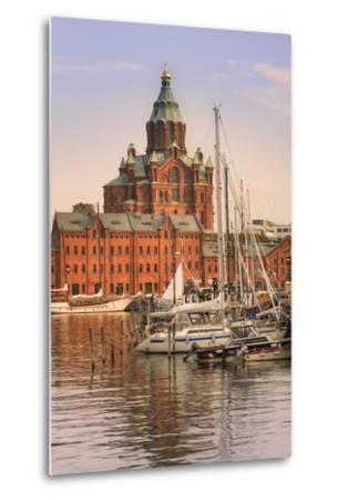 Uspenski Cathedral and Helsinki Harbor-Jon Hicks-Metal Print