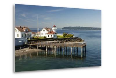 Mukilteo Lighthouse, Mukilteo, Washington, USA-Michele Benoy Westmorland-Metal Print