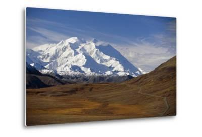 View of Mt Mckinley and Ak Range from Stony Hill W-Design Pics Inc-Metal Print