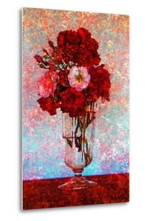 Flower Vase--Metal Print