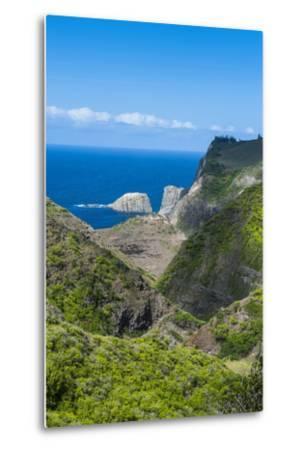 The Rugged West Maui Landscape and Coastline, Maui, Hawaii, United States of America, Pacific-Michael Runkel-Metal Print