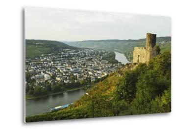 View of Landshut Castle Ruins-Jochen Schlenker-Metal Print