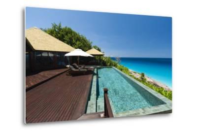 Fregate Island Resort, Seychelles, Indian Ocean, Africa-Sergio Pitamitz-Metal Print