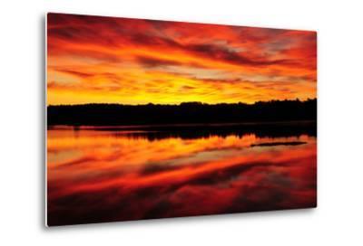 Sunset-Michel Hersen-Metal Print