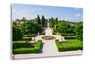 Bahai Gardens, Acre-RnDmS-Metal Print