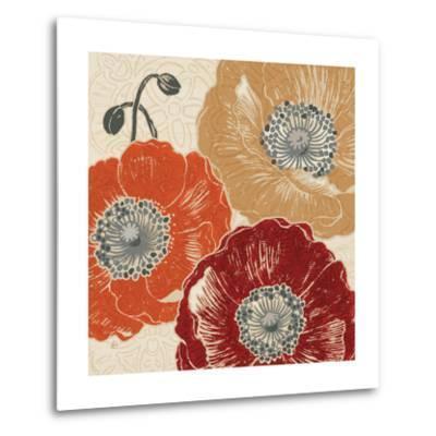 A Poppys Touch III-Daphne Brissonnet-Metal Print