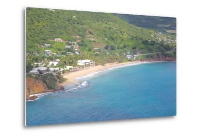 View of Carlisle Bay, Antigua, Leeward Islands, West Indies, Caribbean, Central America-Frank Fell-Metal Print