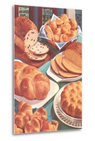Rolls and Breads-Found Image Press-Metal Print