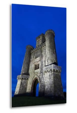 Paxtons Tower, Llanarthne, Carmarthenshire, Wales, United Kingdom, Europe-Billy Stock-Metal Print