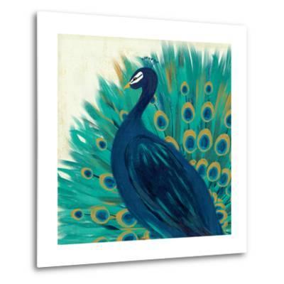Proud as a Peacock II-Veronique Charron-Metal Print