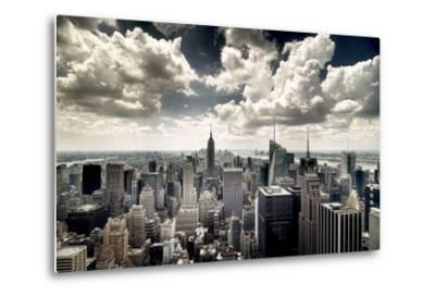 View of Manhattan, New York-Steve Kelley-Metal Print