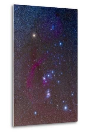 The Orion Constellation--Metal Print