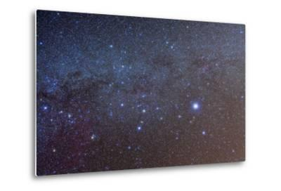 The Constellation of Canis Major with Nearby Deep Sky Objects--Metal Print