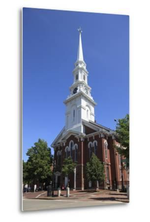 North Church, Portsmouth, New Hampshire, New England, United States of America, North America-Wendy Connett-Metal Print