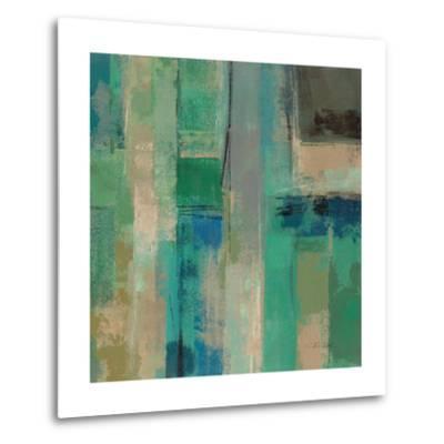 Emerald Fields Square II-Silvia Vassileva-Metal Print