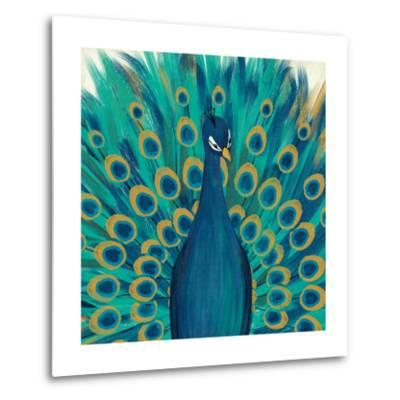 Proud as a Peacock I-Veronique Charron-Metal Print