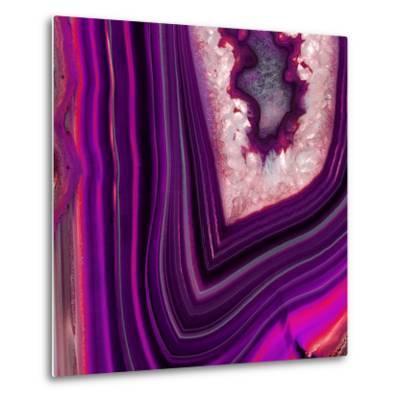 Saturn Geode-GI ArtLab-Metal Print
