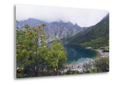Lake Morskie Oko (Eye of the Sea), Zakopane, Carpathian Mountains, Poland, Europe-Christian Kober-Metal Print