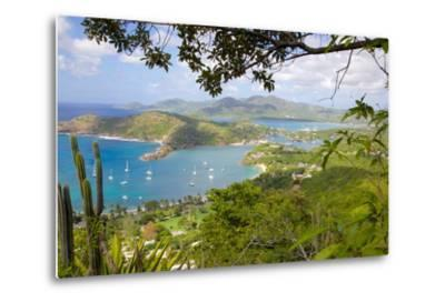 View of English Harbour from Shirley Heights-Frank Fell-Metal Print