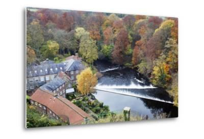 Castle Mills and the Weir-Mark Sunderland-Metal Print