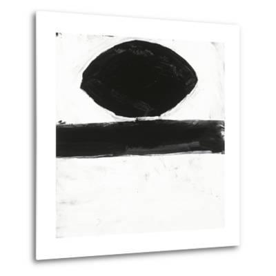 Black and White O-Franka Palek-Metal Print