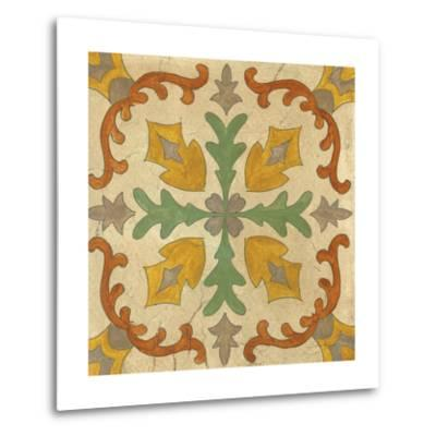 Andalucia Tiles I Color-Silvia Vassileva-Metal Print