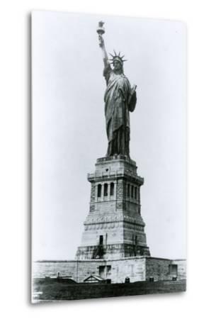 The Statue of Liberty-G.P. & Son Hall-Metal Print