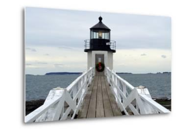 Marshall Point Lighthouse-lightningboldt-Metal Print