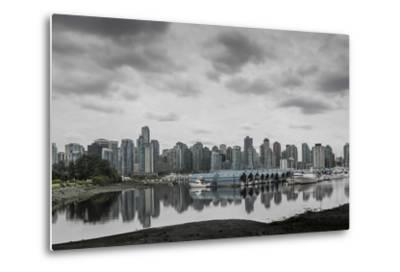 Teary Skies over Vancouver-Latitude 59 LLP-Metal Print