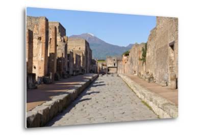 Street of Pompeii-JIPEN-Metal Print