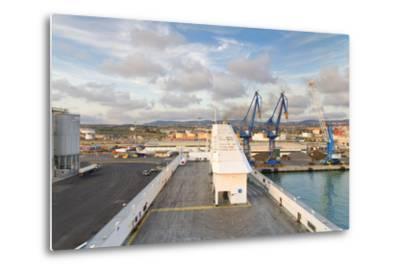 Port of Civitavecchia-lachris77-Metal Print