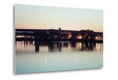 Bridge in Peoria-benkrut-Metal Print