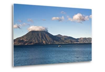 Boat on Lake Attilan-benkrut-Metal Print
