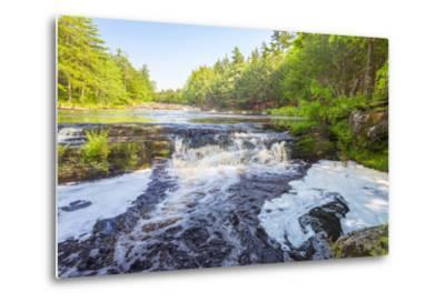Forest Waterfall-Vadim Petrov-Metal Print